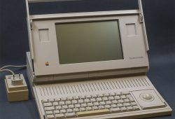 Apple Macintosh Portable (1989) first portable computer of Apple Inc.